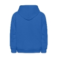 very happy narwhale whale with a horn Kids' Hooded Sweatshirt