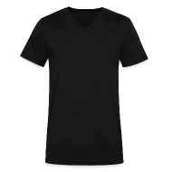 T-Shirts ~ Men's V-Neck T-Shirt by Canvas ~ Mens V-Neck T-Shirt