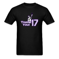 T-Shirts ~ Men's T-Shirt ~ Thank You 17 - Mens - T-shirt