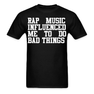 T-Shirts ~ Men's T-Shirt ~ Rap Music