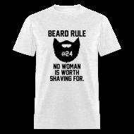 T-Shirts ~ Men's T-Shirt ~ Beard Rule #24