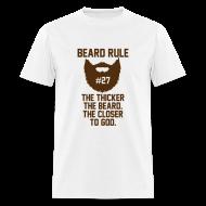 T-Shirts ~ Men's T-Shirt ~ Beard Rule #27