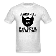 T-Shirts ~ Men's T-Shirt ~ Beard Rule #20