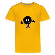 Kids' Shirts ~ Kid's Premium T-Shirt ~ Dust monster Kids premium tee