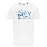 T-Shirts ~ Men's Premium T-Shirt ~ The Vineyard's Own -- 88.7 mvy
