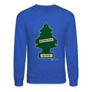 Long Sleeve Shirts ~ Men's Crewneck Sweatshirt ~ Michigan Fresh