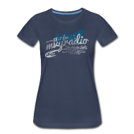 Women's T-Shirts ~ Women's Premium T-Shirt ~ 88.7 mvyradio is back on the air