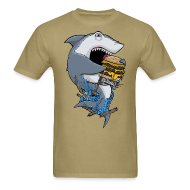 T-Shirts ~ Men's T-Shirt ~ Hungry Shark Shirt