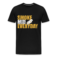 T-Shirts ~ Men's Premium T-Shirt ~ Smoke Mid Everyday (destroyed)