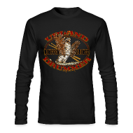 Long Sleeve Shirts ~ Men's Long Sleeve T-Shirt by American Apparel ~ Ruffed Grouse Upland Drummer