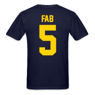 T-Shirts ~ Men's T-Shirt ~ Fab 5 (Back)