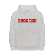 Sweatshirts ~ Kids' Hooded Sweatshirt ~ Retired Numbers