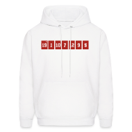 Hoodies ~ Men's Hooded Sweatshirt ~ Retired Numbers