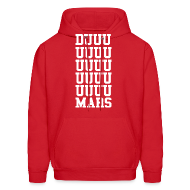 Hoodies ~ Men's Hooded Sweatshirt ~ DUUUUUUUUUUUUUUUUUUUMARS