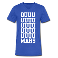T-Shirts ~ Men's V-Neck T-Shirt by Canvas ~ DUUUUUUUUUUUUUUUUUUUMARS