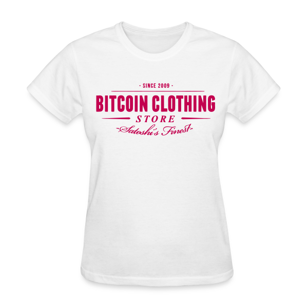 Bitcoin Store White T Shirt