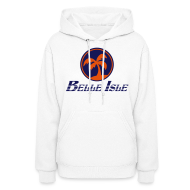 Hoodies ~ Women's Hooded Sweatshirt ~ Belle Isle