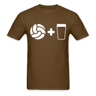 T-Shirts ~ Men's T-Shirt ~ Football & Beer