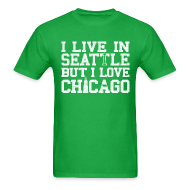 T-Shirts ~ Men's T-Shirt ~ Chicago