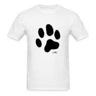 T-Shirts ~ Men's T-Shirt ~ Men's Basic T - Black paw print