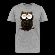 T-Shirts ~ Men's Premium T-Shirt ~ Hoot! Night Owl!