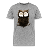 T-Shirts ~ Men's Premium T-Shirt ~ Hoot! Night Owl!
