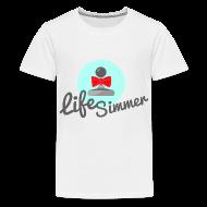 Kids' Shirts ~ Kid's Premium T-Shirt ~ Red-Bow Logo Kids