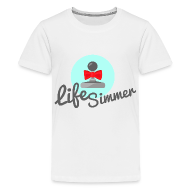 Kids' Shirts ~ Kid's Premium T-Shirt ~ Red-Bow Logo Kids