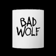 Mugs & Drinkware ~ Contrast Coffee Mug ~ Bad Wolf - Doctor Who  | Robo