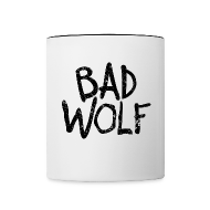 Bottles & Mugs ~ Contrast Coffee Mug ~ Bad Wolf - Doctor