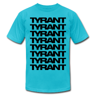 T-Shirts ~ Men's T-Shirt by American Apparel ~ Mens T-Shirt // TYRANT