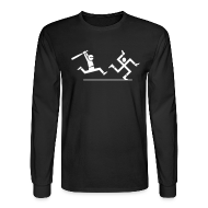Long Sleeve Shirts ~ Men's Long Sleeve T-Shirt ~ Nazi hunting