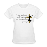 Women's T-Shirts ~ Women's T-Shirt ~ Trust in God