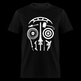 Sci-Fi Weapon Skull T-Shirt ~ 351