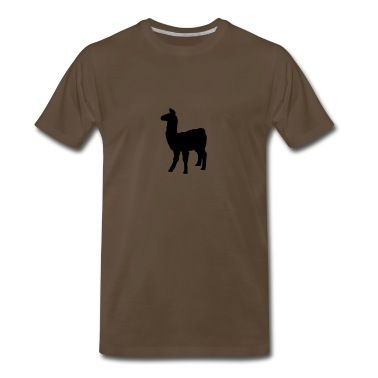 llama domesticated pack animal camel family Andes T-Shirts