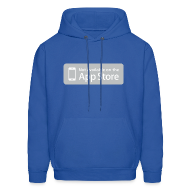 Hoodies ~ Men's Hooded Sweatshirt ~ Not available on the App Store - Grey