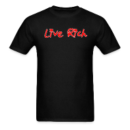 T-Shirts ~ Men's T-Shirt ~ Live Rich Signature