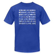 T-Shirts ~ Men's T-Shirt by American Apparel ~ Bad like Bad Boys