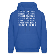 Hoodies ~ Men's Hooded Sweatshirt ~ Bad like Bad Boys