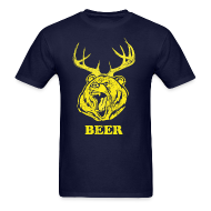 T-Shirts ~ Men's T-Shirt ~ Bear-Deer