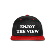 Caps ~ Snap-back Baseball Cap ~ Enjoy The View