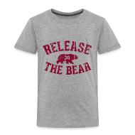 Baby & Toddler Shirts ~ Toddler Premium T-Shirt ~ Release the Bear - Toddlers'