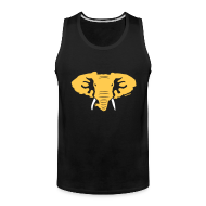 Men ~ Men's Premium Tank Top ~ Hellaphant Tank