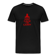 T-Shirts ~ Men's Premium T-Shirt ~ Premium Tee: Keep Calm