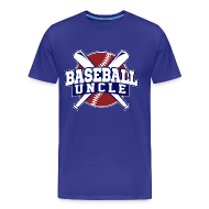 T-Shirts ~ Men's Premium T-Shirt ~ baseball uncle