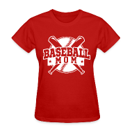 Women's T-Shirts ~ Women's T-Shirt ~ baseball mom,mother day