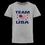 Kids' Shirts ~ Kid's Premium T-Shirt ~ Team USA Soccer