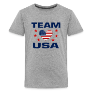 Kids' Shirts ~ Kid's Premium T-Shirt ~ Team USA Soccer