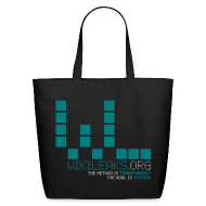 Bags & backpacks ~ Eco-Friendly Cotton Tote ~ WikiLeaks Supporter (incl $35.20 donation)