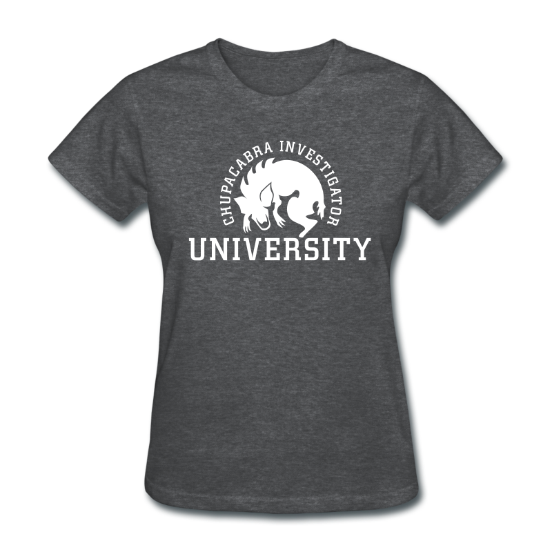 Chupacabra Investigator University Shirt